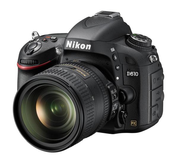 Nikon presenta la nueva cámara Full Frame DSLR Nikon D610 - Nikon_D610_24_85_frontsideleft_A