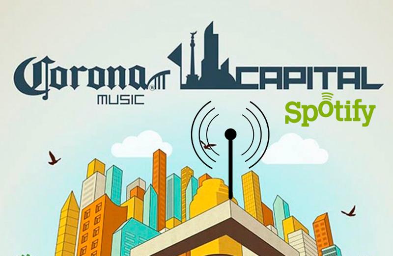 Spotify proporcionará Wi-Fi gratuito a sus usuarios en el Corona Capital 2013 - Spotify-Corona-capital