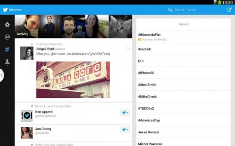 Twitter lanza versión optimizada para tabletas con Android pero únicamente para la Samsung Galaxy Tab 10.1 - Twitter-tabletas-android