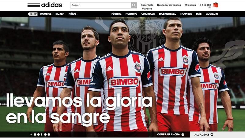 Adidas México presenta su tienda en línea - adidas-mexico-tienda