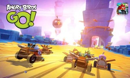 Angry Birds Go!, el juego de carreras de Rovio llega en diciembre
