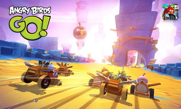 Angry Birds Go!, el juego de carreras de Rovio llega en diciembre - angry-birds-go