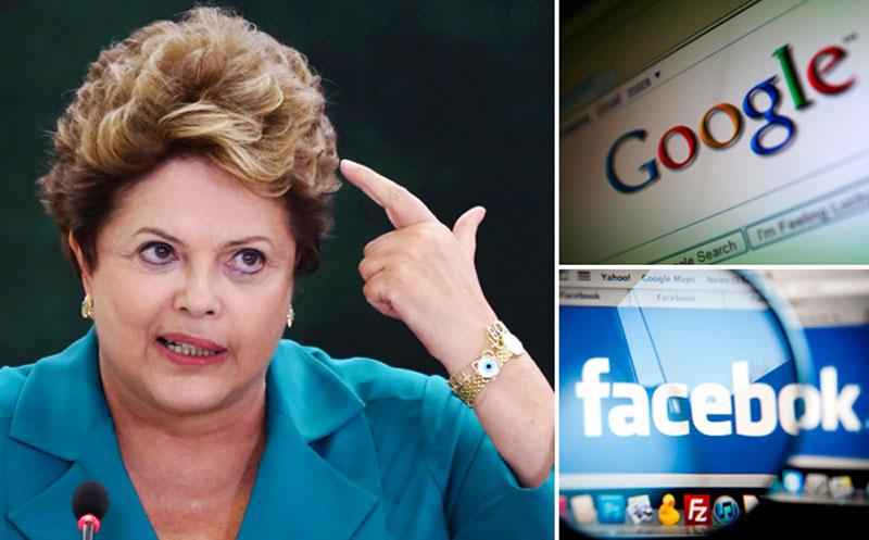 Presidenta de Brasil anuncia su propio correo cifrado - dilma-rousseff-brasil-internet