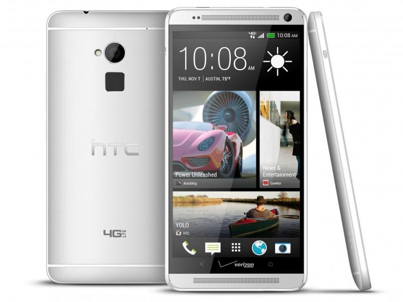 HTC presenta su HTC One Max con lector de huellas dactilares - htc-one-max