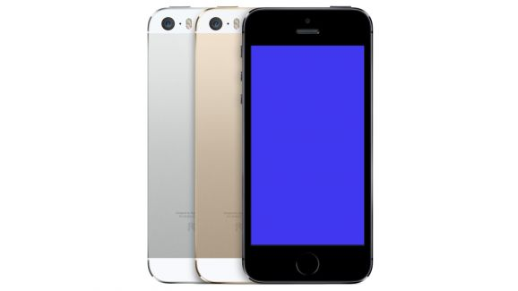 El pantallazo azul de la muerte de Windows llega al iPhone 5S - iPhone-5S-pantalla-azul