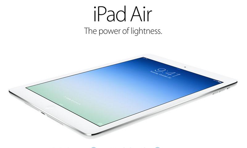 ipad air Apple presenta al nuevo iPad Air y un iPad Mini con Retina Display