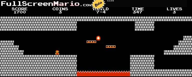 juegos mario bros Juega Mario bros online con todos sus niveles originales en Full Screen Mario