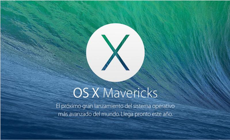 mac os x mavericks Mac OS X Mavericks es gratis y podrá descargarse hoy mismo