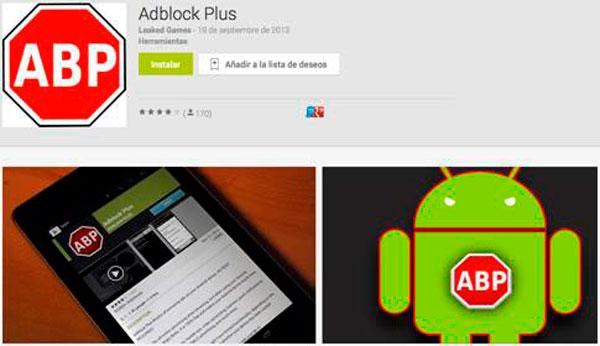 ¡Cuidado! Aplicación maliciosa se hace pasar por Adblock Plus para Android - malware-adblock