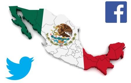 Los políticos mexicanos con más seguidores en Twitter y Facebook
