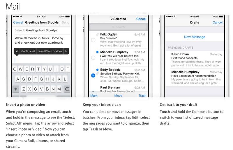 Trucos para iPhone publicados por Apple - trucos-iphone-mail