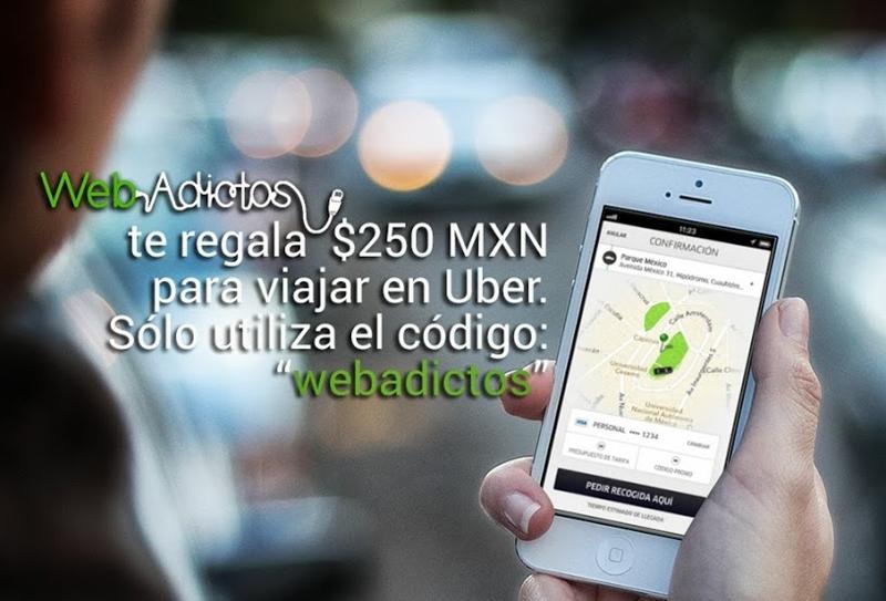 5 apps para viajar en Taxi Seguro en México, DF - uber-codigo-webadictos