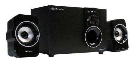 Nuevo sistema de Audio Multimedia 2.1 de Acteck que ofrece una experiencia auditiva de alto nivel