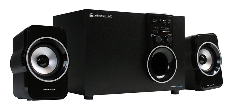 Nuevo sistema de Audio Multimedia 2.1 de Acteck que ofrece una experiencia auditiva de alto nivel - AXF-390-especial