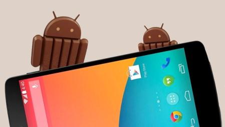 Google por fin comienza a liberar la actualización Android 4.4 KitKat para el Nexus 4