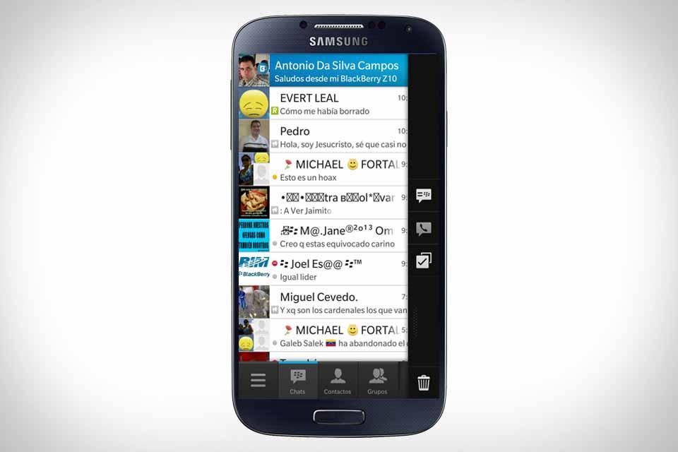BBM Android BlackBerry forza la expansión de BBM preinstalándolo en smarphones con Android