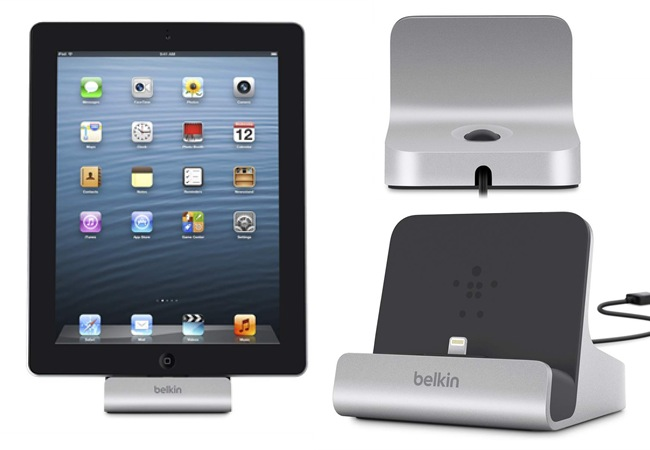 Belkin presenta su nuevo Express Dock de Aluminio para cargar y sincronizar el iPad - Belkin-Express-Dock-For-iPad
