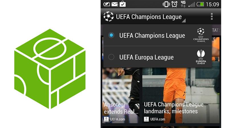 HTC Footballfeed Sigue los juegos de la UEFA Champions League en tu Android con HTC FootballFeed