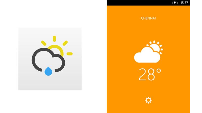 Just Weather, una minimalista y bella app de clima para Windows Phone 8 - Just-Weather-Windows-Phone
