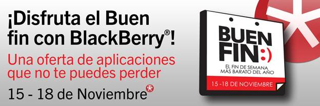 blackberry buen fin Ofertas del Buen Fin 2013 de BlackBerry