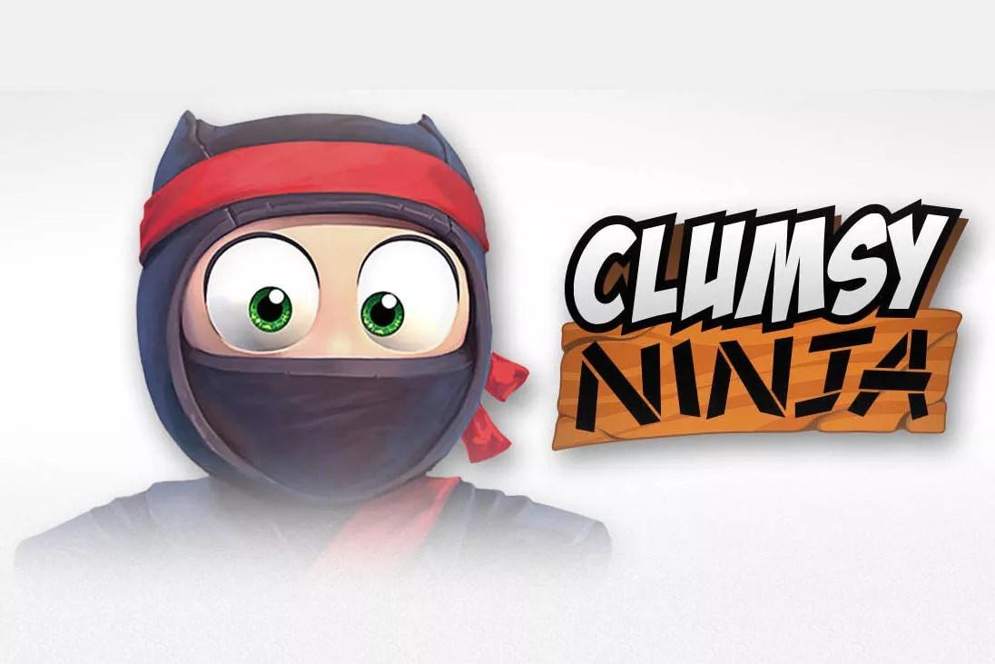 clumsy ninja ios Entrena y juega con un Ninja en tu iPhone con Clumsy Ninja