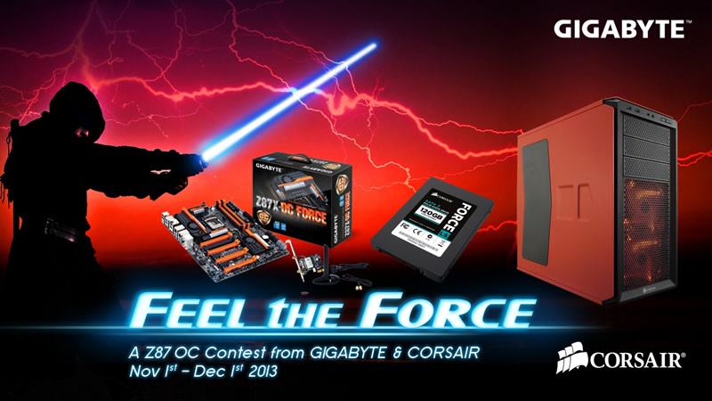 "Concurso de Overclock ""Feel the force"" de GIGABYTE - feel-the-force-gigabyte"