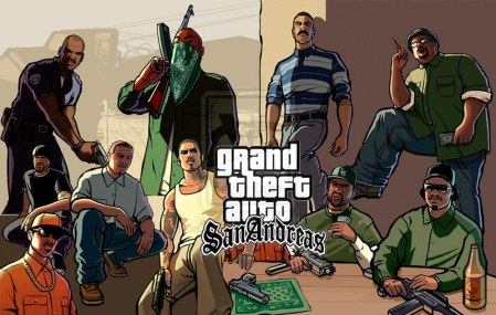 Grand Theft Auto: San Andreas disponible próximamente en móviles