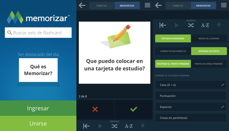 Memorizar.com ya cuenta con una nueva aplicación para todos los jóvenes estudiantes - memorizar-app