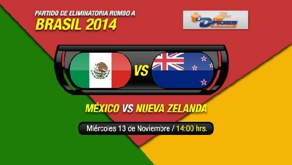 México vs Nueva Zelanda en vivo, partido de ida - mexico-vs-nueva-zelanda-repechaje