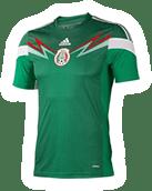 México vs Nueva Zelanda en vivo, partido de ida - nuevo-jersey-mexico-mundial-2014