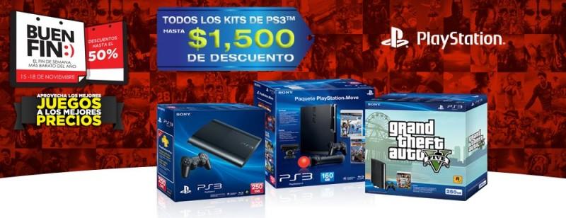 Ofertas del Buen Fin 2013 en videojuegos - sony-ps3-buen-fin-800x308