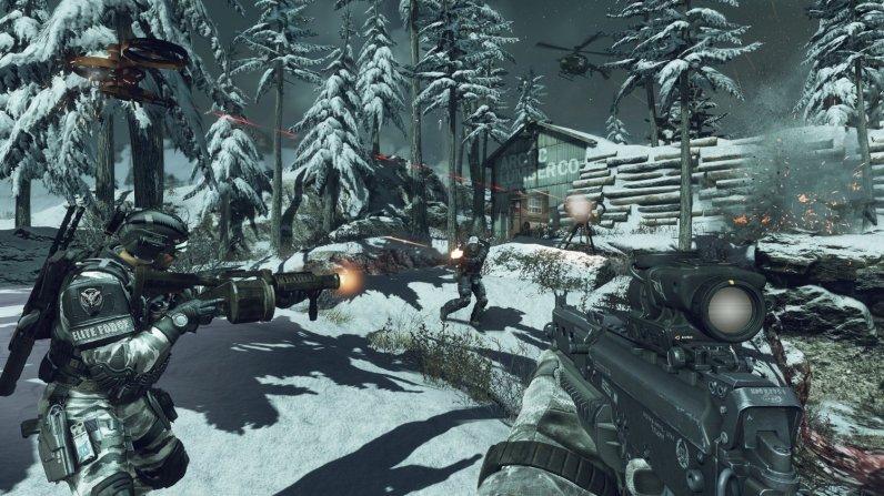Call of Duty Ghosts presentado por Activision e Infinity Ward - ssgh
