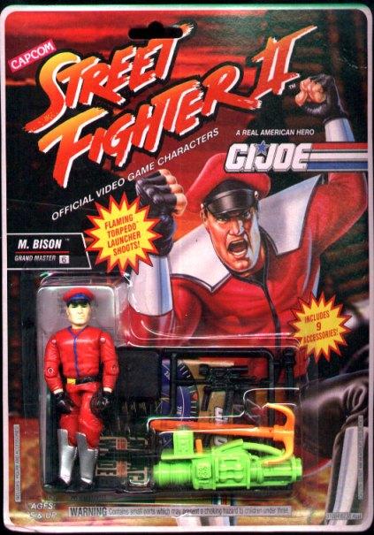 Extrañas figuras de G.I. Joe Street Fighter II - 111
