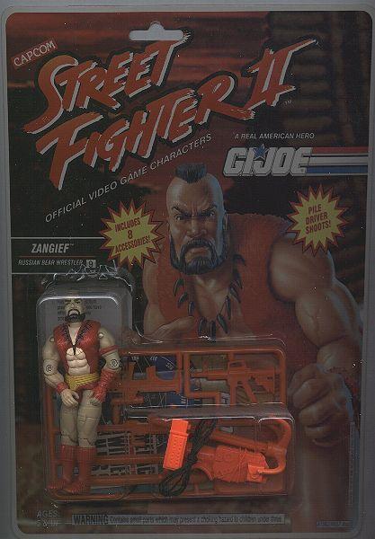 Extrañas figuras de G.I. Joe Street Fighter II - 151