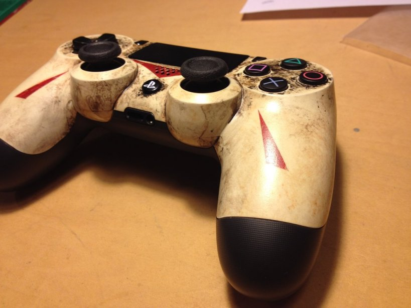 Diseño de DualShock 4 inspirado en Jason Voorhees - 37