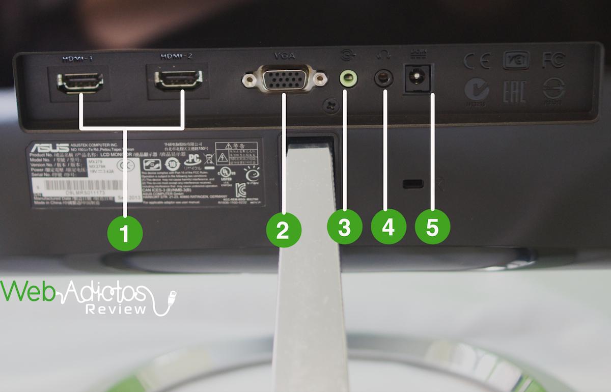 Monitor ASUS Designo Series MX279 Full HD con tecnología LED [Reseña] - ASUS-MX279-2