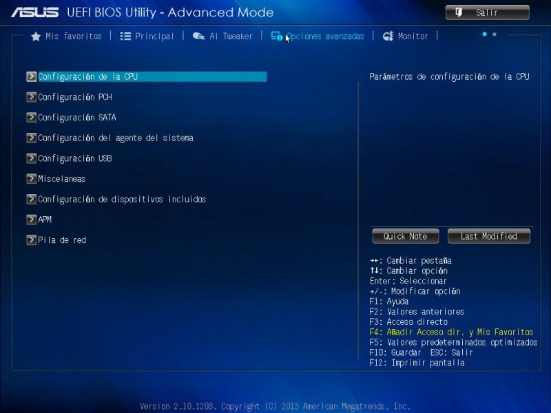 Tarjeta madre ASUS H81M-A para procesadores Intel de 4ta generación [Reseña] - ASUS-bios-h81m-a-5-800x600
