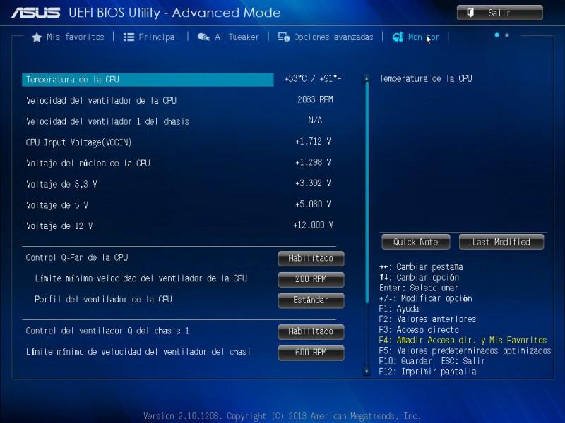 Tarjeta madre ASUS H81M-A para procesadores Intel de 4ta generación [Reseña] - ASUS-bios-h81m-a-6-800x600