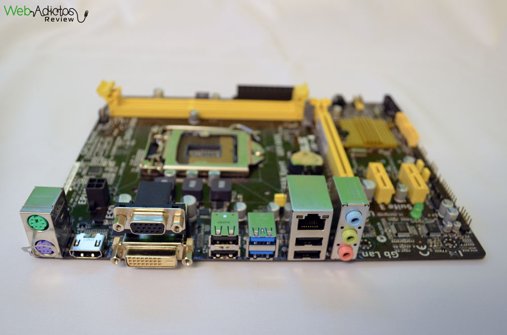 Tarjeta madre ASUS H81M-A para procesadores Intel de 4ta generación [Reseña] - ASUS-h81M-A-3