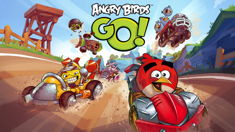 Angry Birds Go keyart Angry Birds Go!, el juego de carreras de Rovio disponible para iOS, Android, Windows Phone 8 y BlackBerry
