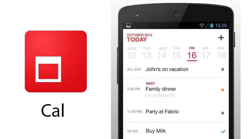 Cal, uno de los mejores calendarios llega a Android de la mano de Any.Do - Cal-para-android