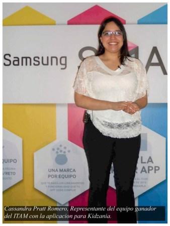 Kidzania e ITAM los ganadores del Reto Samsung Smart TV powered by Telcel 2013 - Cassandra-Pratt-Romero-601x800