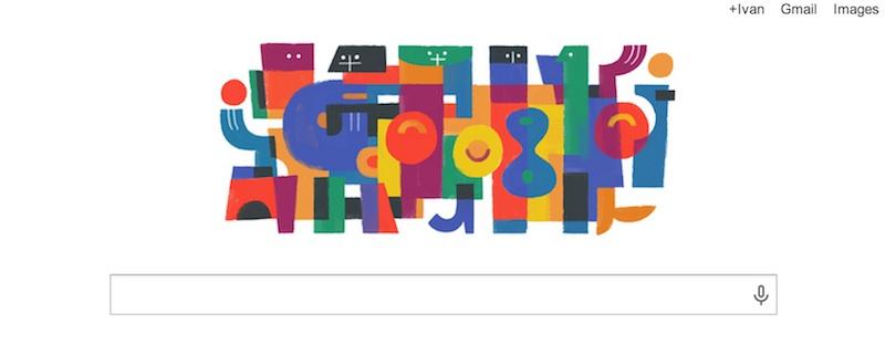 Doodle carlos merida Google conmemora el 122º aniversario del artista Carlos Mérida