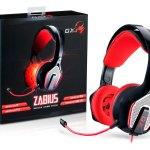 Auriculares Zabius de la serie GX Gaming de Genius ya están disponibles en Latinoamérica - HS-G850-Box