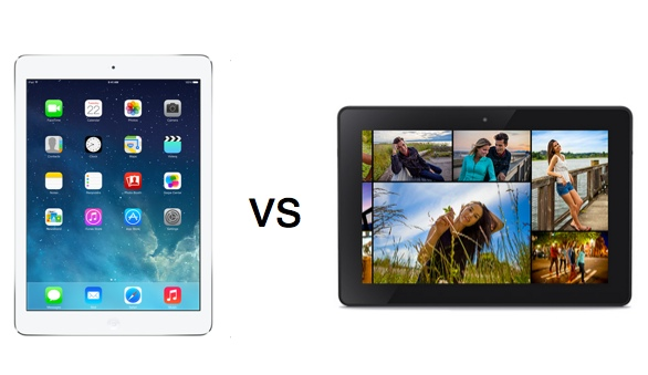 Amazon se burla del nuevo iPad Air en el nuevo comercial de la Kindle Fire HDX - iPad-air-vs-kindle-fire-hdx