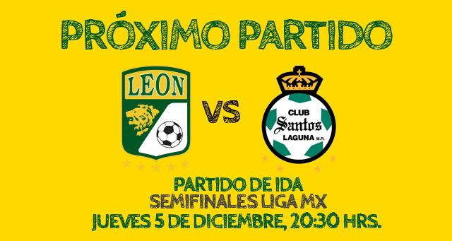 leon santos semifinal en vivo León vs Santos en vivo, Semifinal Apertura 2013 (Partido de ida)