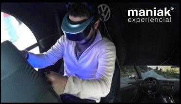 Volkswagen 4DX, un simulador de manejo que reinventa la forma de sentir el manejo de un auto - maniak-experiencial-volkswagen-4dx