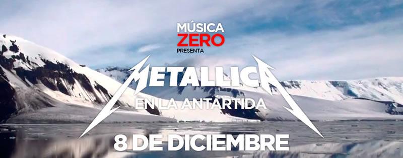 Concierto de Metallica en vivo desde la Antártida - metallica-antartida-en-vivo