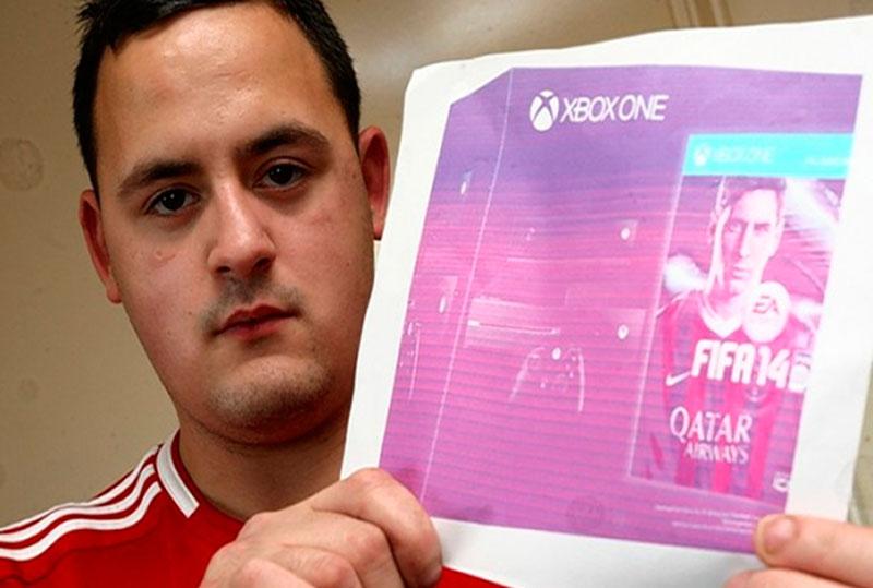 Joven británico es engañado en eBay y paga más de $700 dólares por la foto de un Xbox One - paga-foto-xbox-one