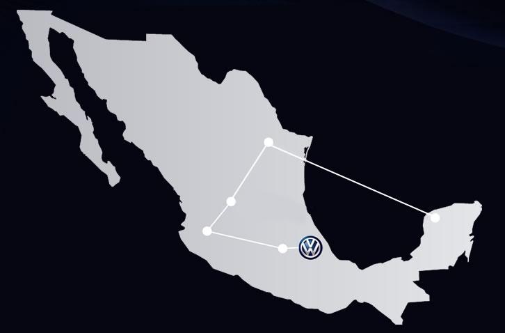 Volkswagen 4DX, un simulador de manejo que reinventa la forma de sentir el manejo de un auto - ruta-volkswagen-4dx